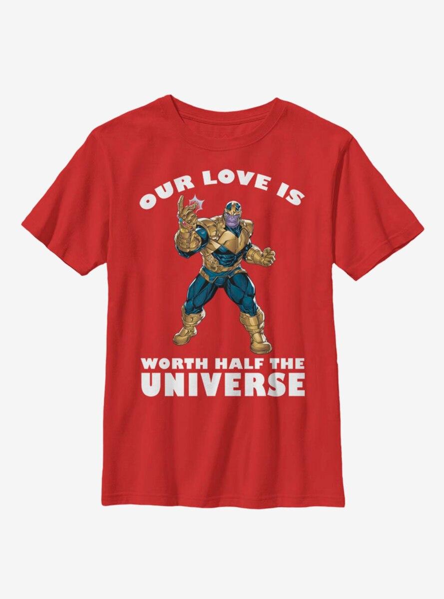Marvel Avengers Thanos Universal Love Youth T-Shirt