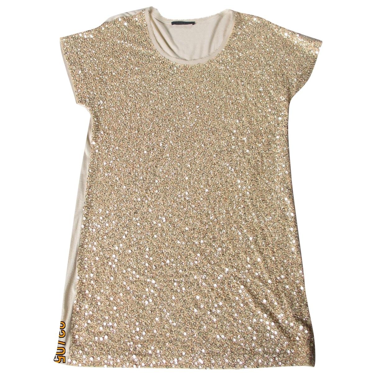 Pinko \N Beige Glitter dress for Women M International