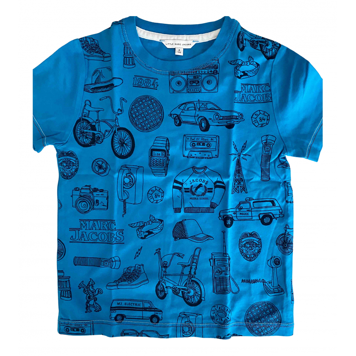 Little Marc Jacobs N Blue Cotton  top for Kids 6 years - up to 114cm FR