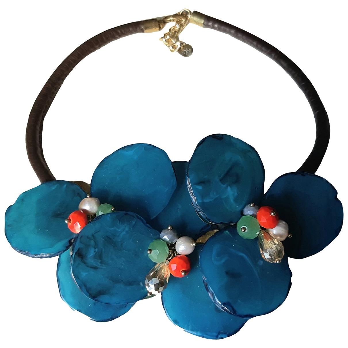 Collar Motifs Floraux Non Signe / Unsigned