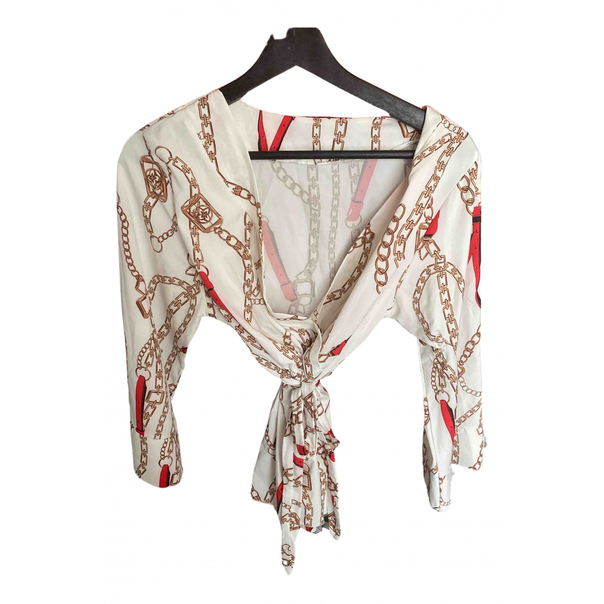 Zara \N White Cashmere  top for Women 40 FR
