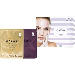 StarSkin Masks Cloth mask Pamper Duo Revitalizing Face Mask VIP - The Gold Mask 1 Stk. + Hollywood Hand Model Nourishing Hand Mask Gloves 1 Stk. 1 Stk