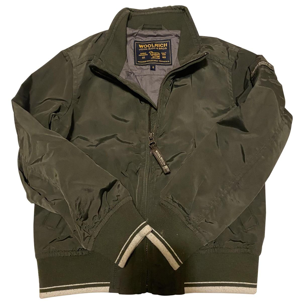 Woolrich - Blousons.Manteaux   pour enfant - vert