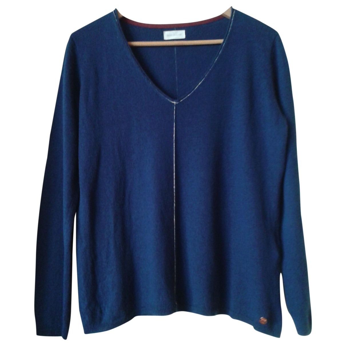 Non Signé / Unsigned \N Blue Knitwear for Women 38 FR