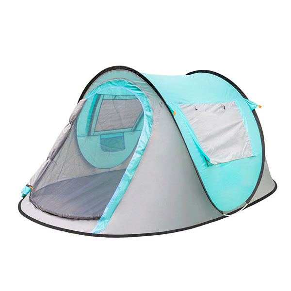 3-4 Person Polyester Instant Single Layer Pop-up Camping Outdoor Tent