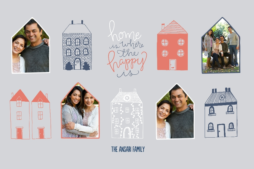 Family + Friends 20x30 Poster(s), Board, Home Décor -Happy Homes