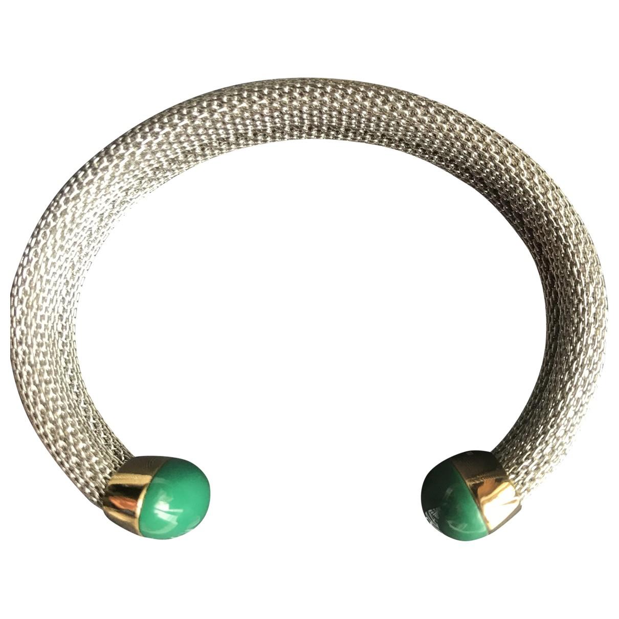 Emporio Armani \N Armband in  Gruen Silber