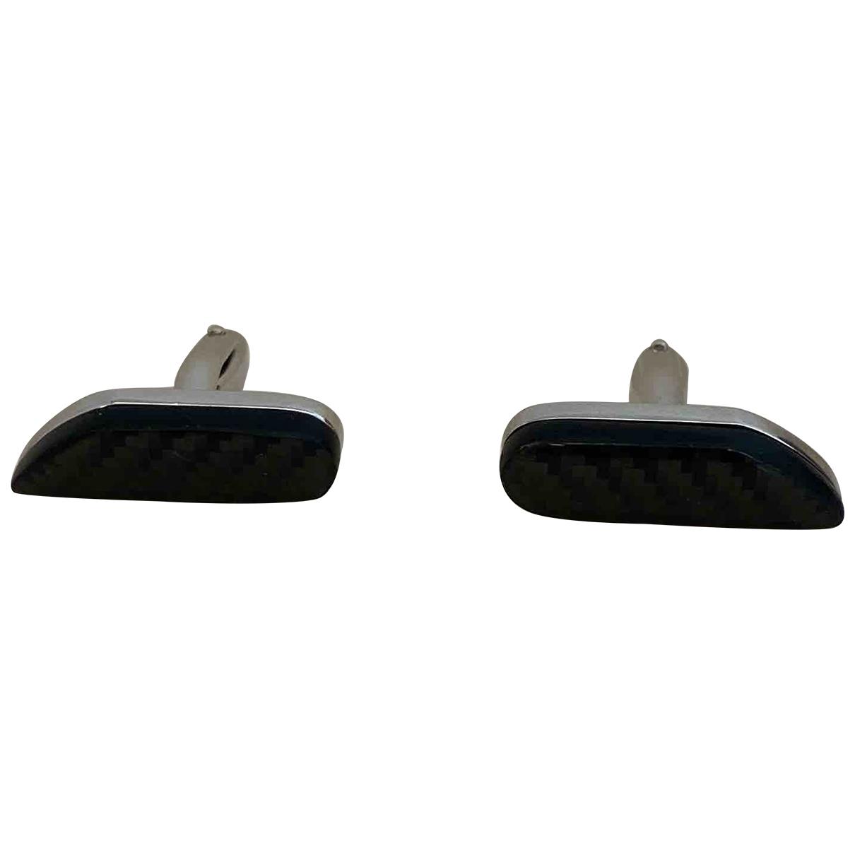 Porsche Design \N Black Steel Cufflinks for Men \N