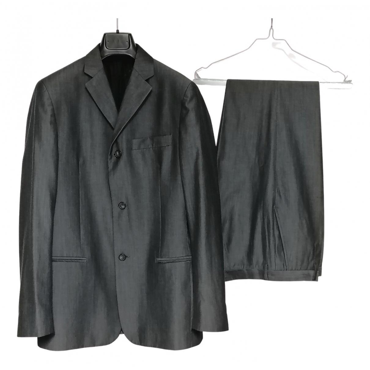 D&g - Costumes   pour homme en laine - anthracite