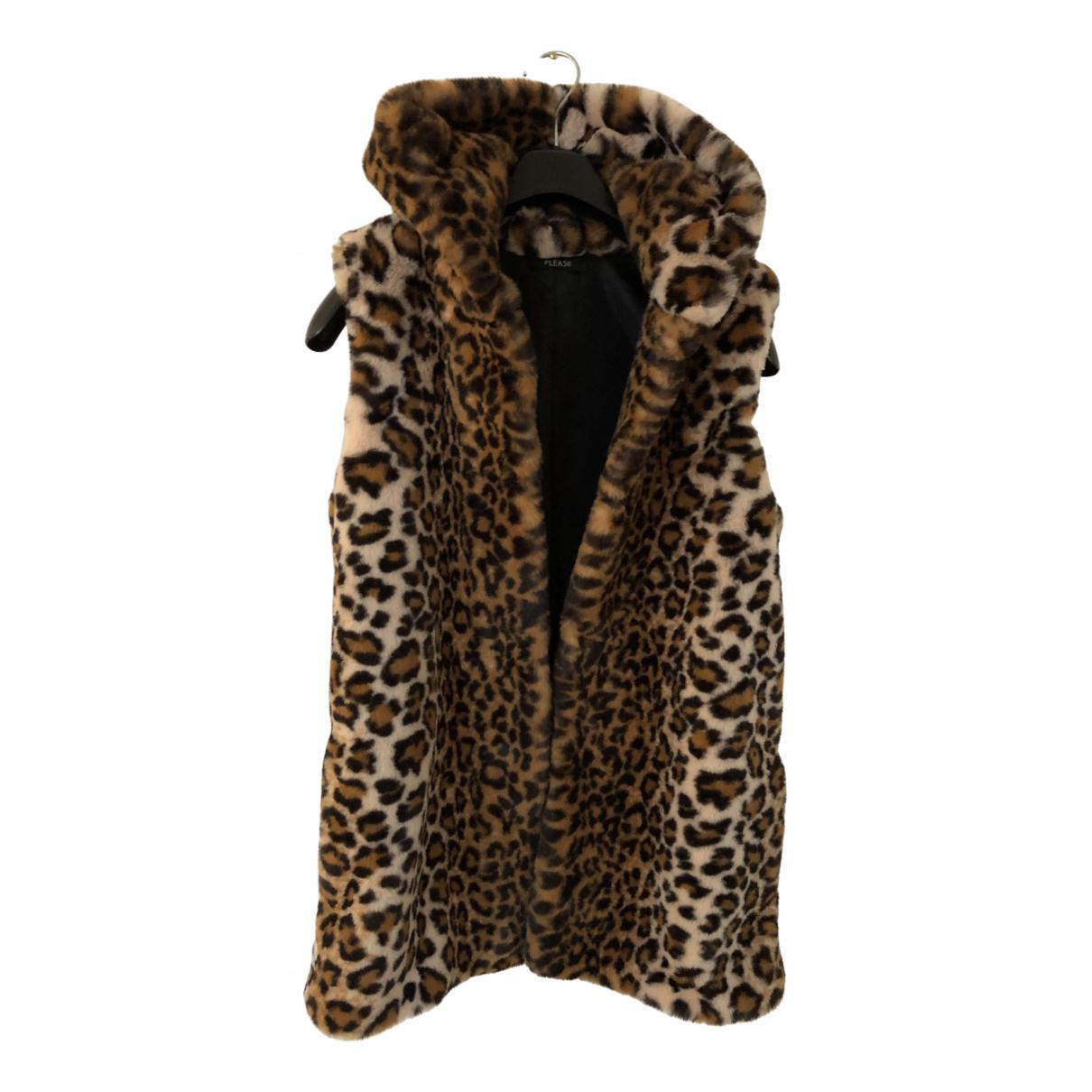 Non Signé / Unsigned N Faux fur jacket for Women 36 IT