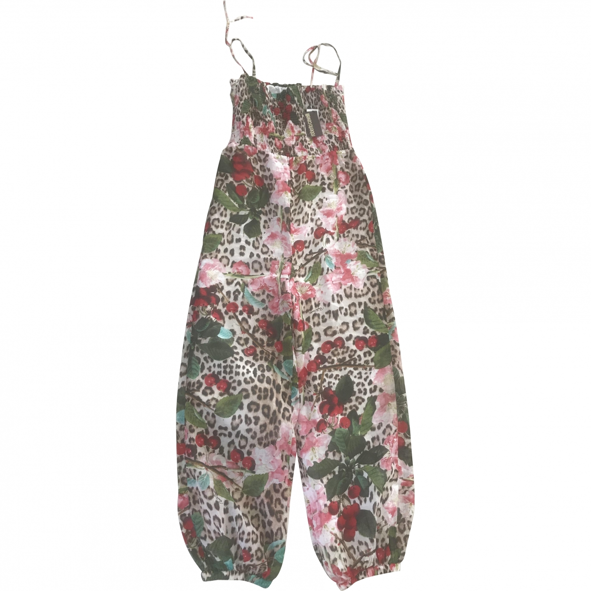 Roberto Cavalli - Combinaison   pour femme en coton - multicolore