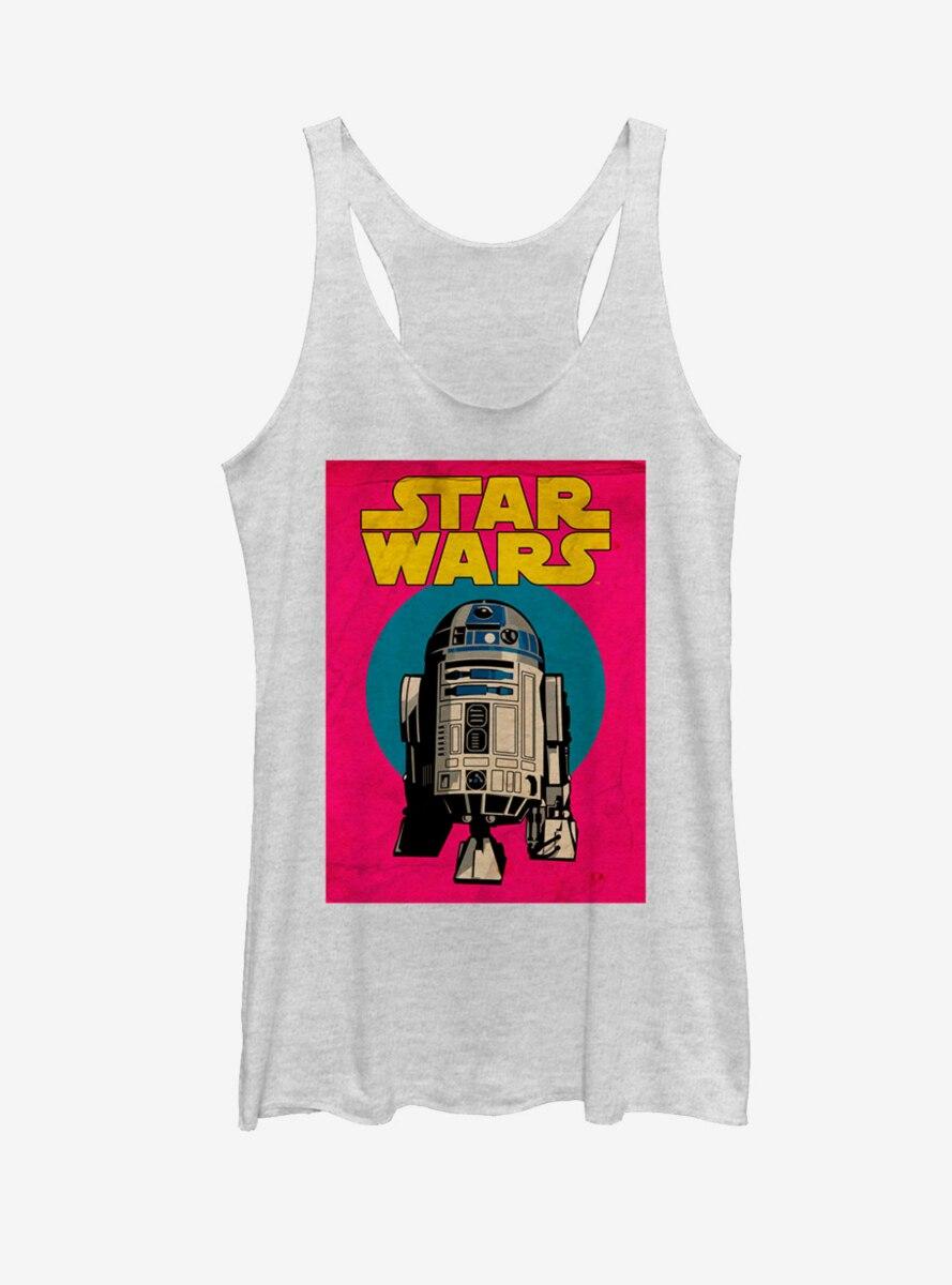 Star Wars R2-D2 Trading Card Womens Tank
