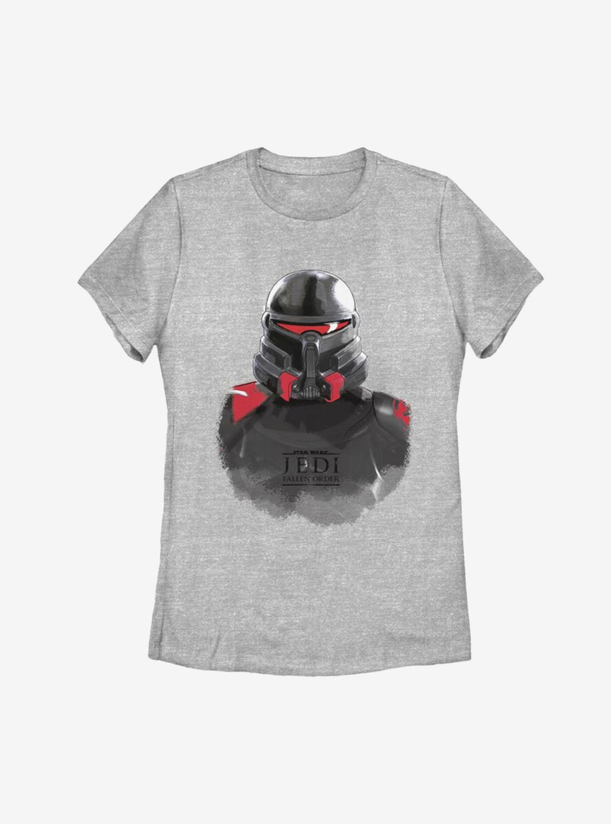 Star Wars Jedi Fallen Order Purge Trooper Mask Womens T-Shirt