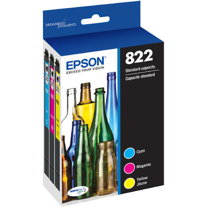 Epson T822 T822520-S Ink Cartridge Combo C/M/Y