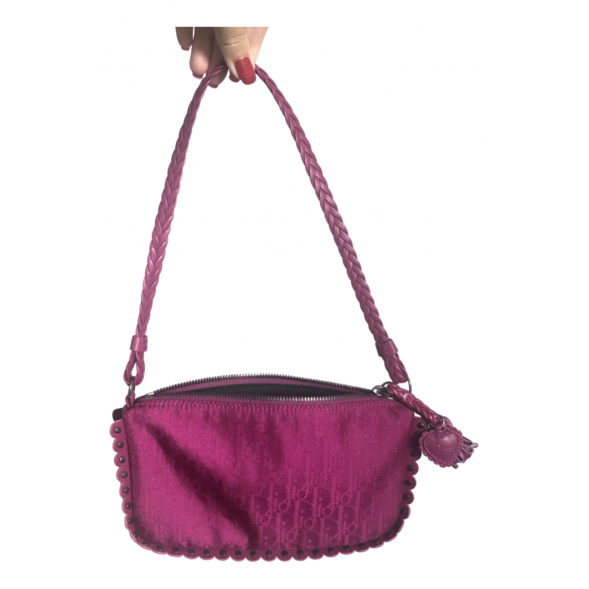 Dior N Pink Cotton Clutch bag for Women N