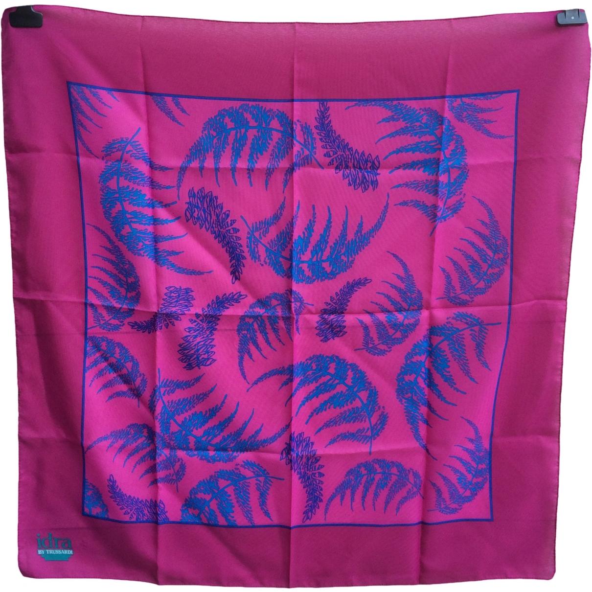 Trussardi - Carre   pour femme - violet