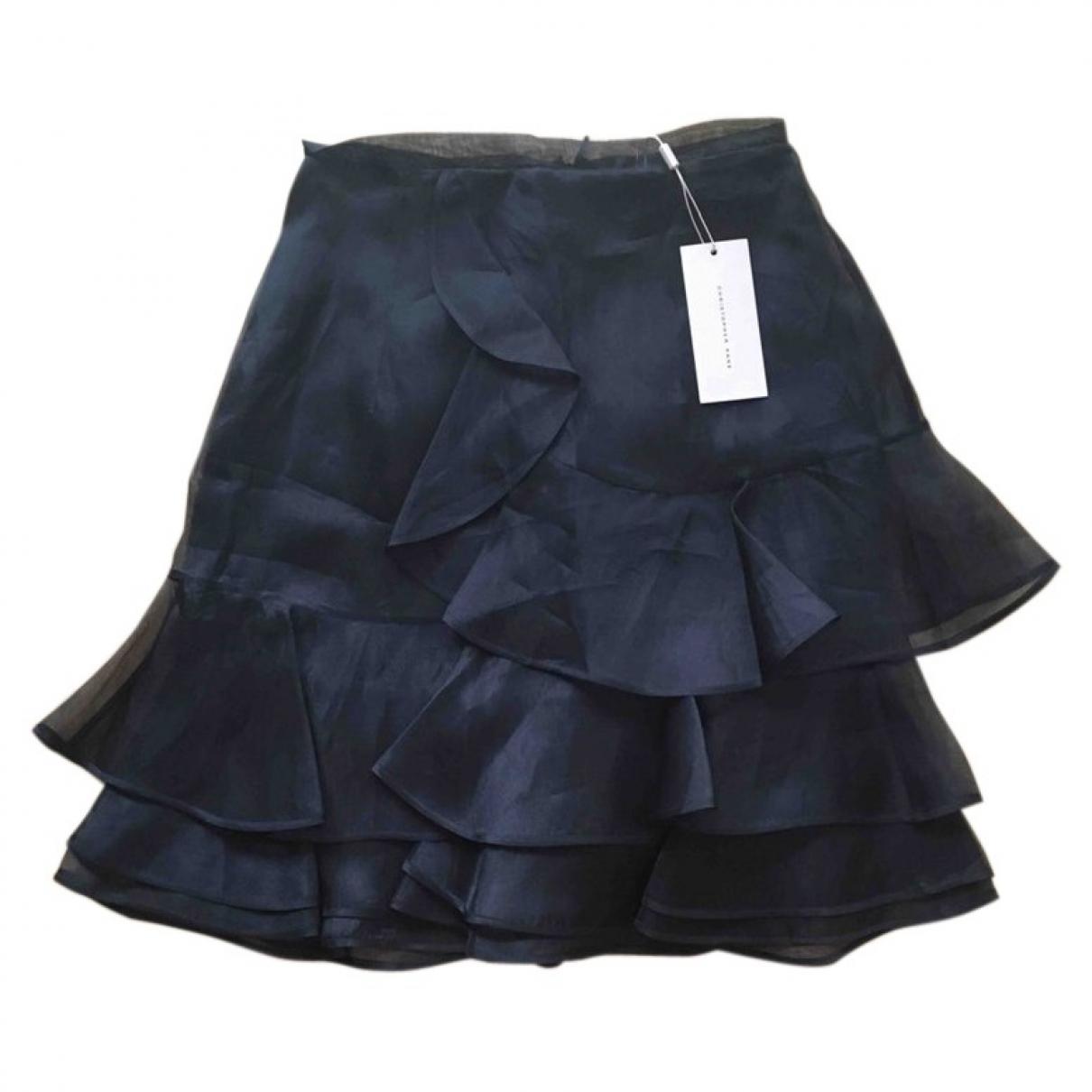 Mini falda de Seda Christopher Kane