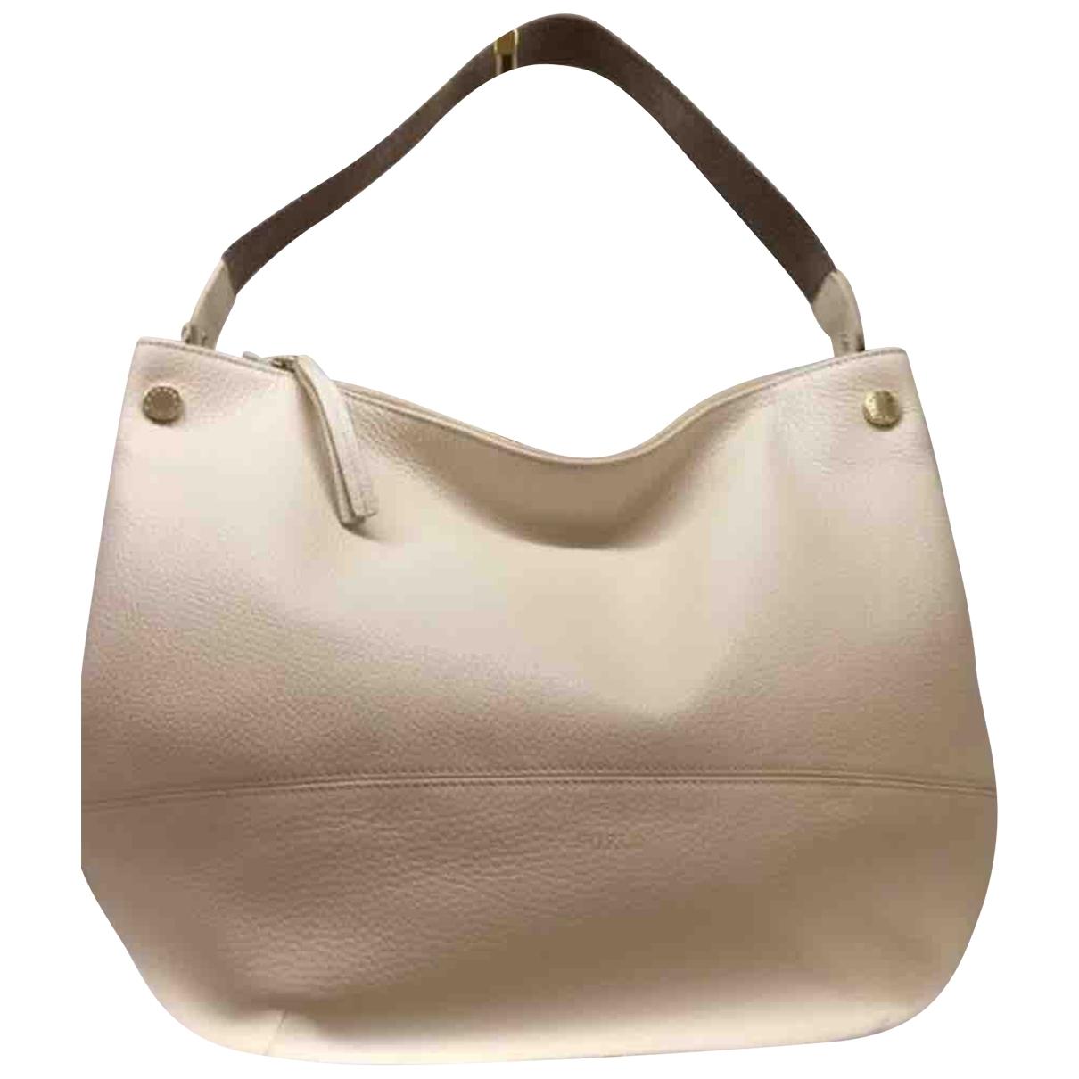 Furla \N Handtasche in  Weiss Leder