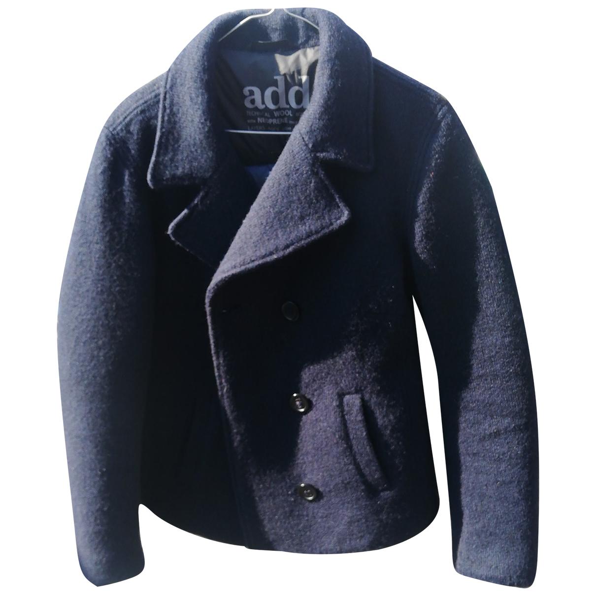 Add N Blue Wool coat for Women 38 FR