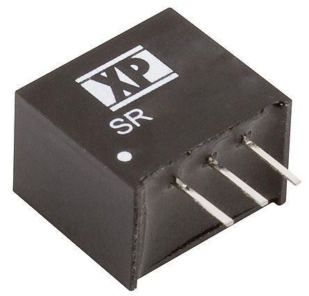 XP Power Through Hole DC-DC Switching Regulator, 3.3V dc Output Voltage, 4.75 → 18V dc Input Voltage, 1A Output