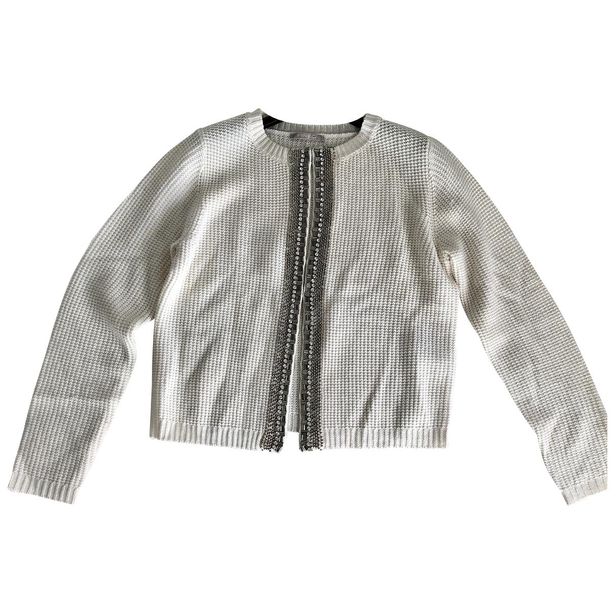 Pinko - Pull   pour femme en laine - blanc
