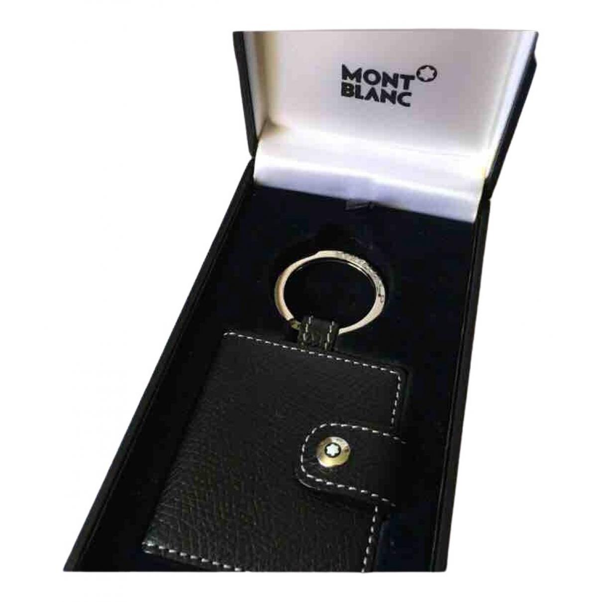 Montblanc \N Black Metal Jewellery for Men \N