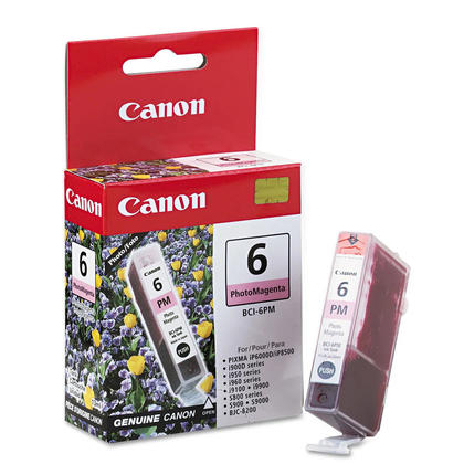 Canon BCI-6PM 4710A003 cartouche d'encre originale magenta photo