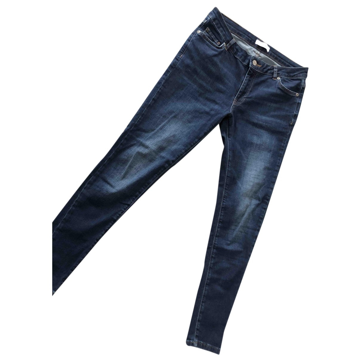 Anine Bing Spring Summer 2020 Navy Cotton - elasthane Jeans for Women 29 US