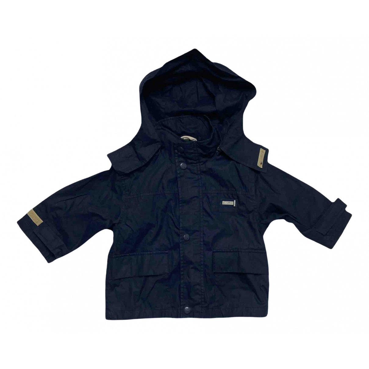 Timberland - Blousons.Manteaux   pour enfant en coton - marine