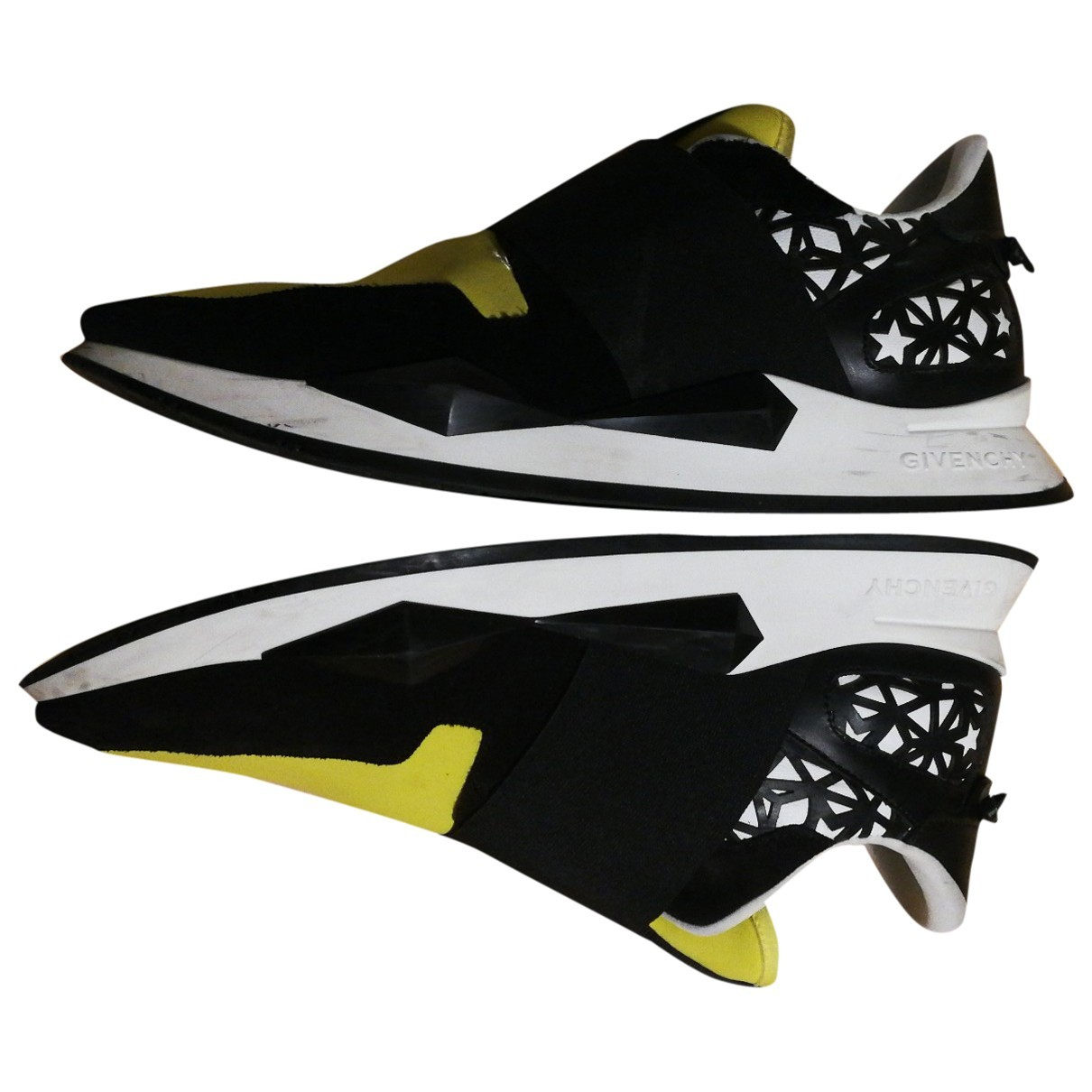 Givenchy \N Sneakers in  Gelb Polyester