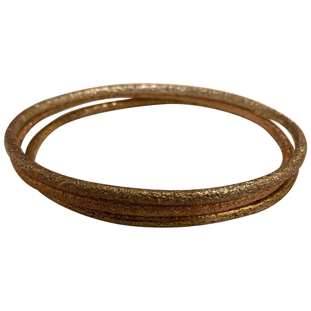 Alexis Bittar - Bracelet   pour femme en plaque or - metallise