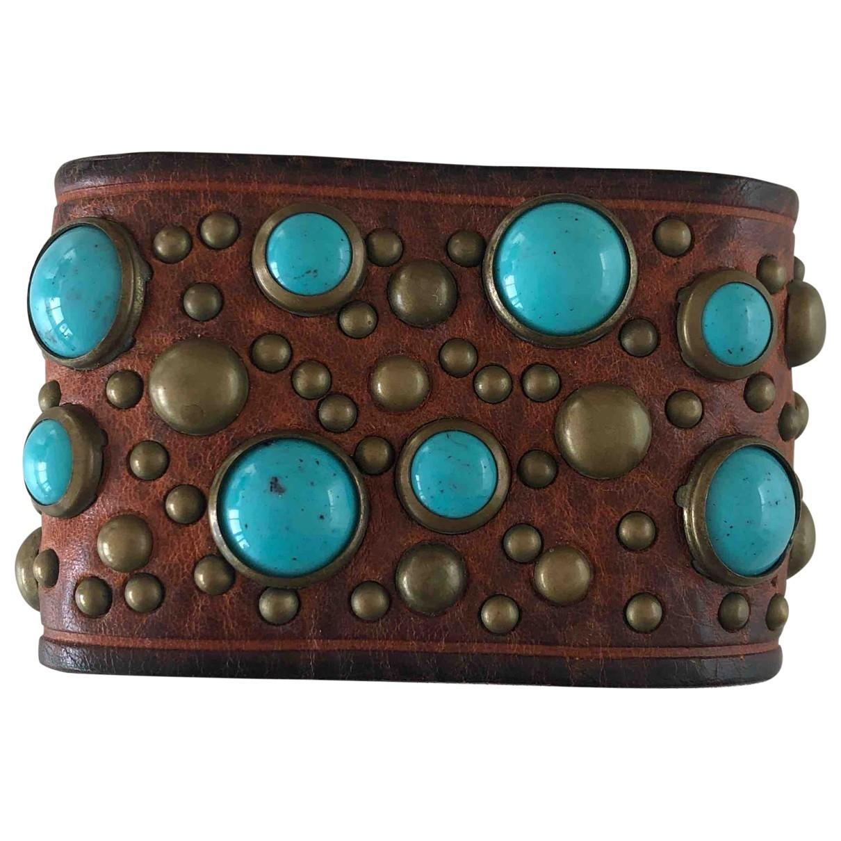 Dsquared2 - Bracelet   pour femme en cuir - marron