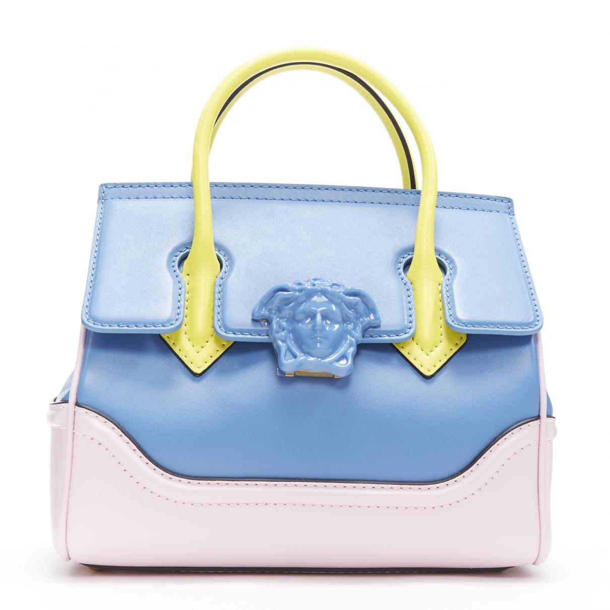 Versace Palazzo Empire Blue Leather handbag for Women \N