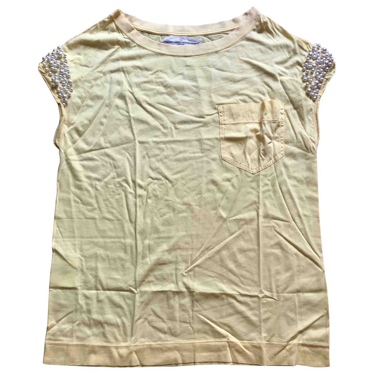 Golden Goose \N Yellow Cotton  top for Women S International
