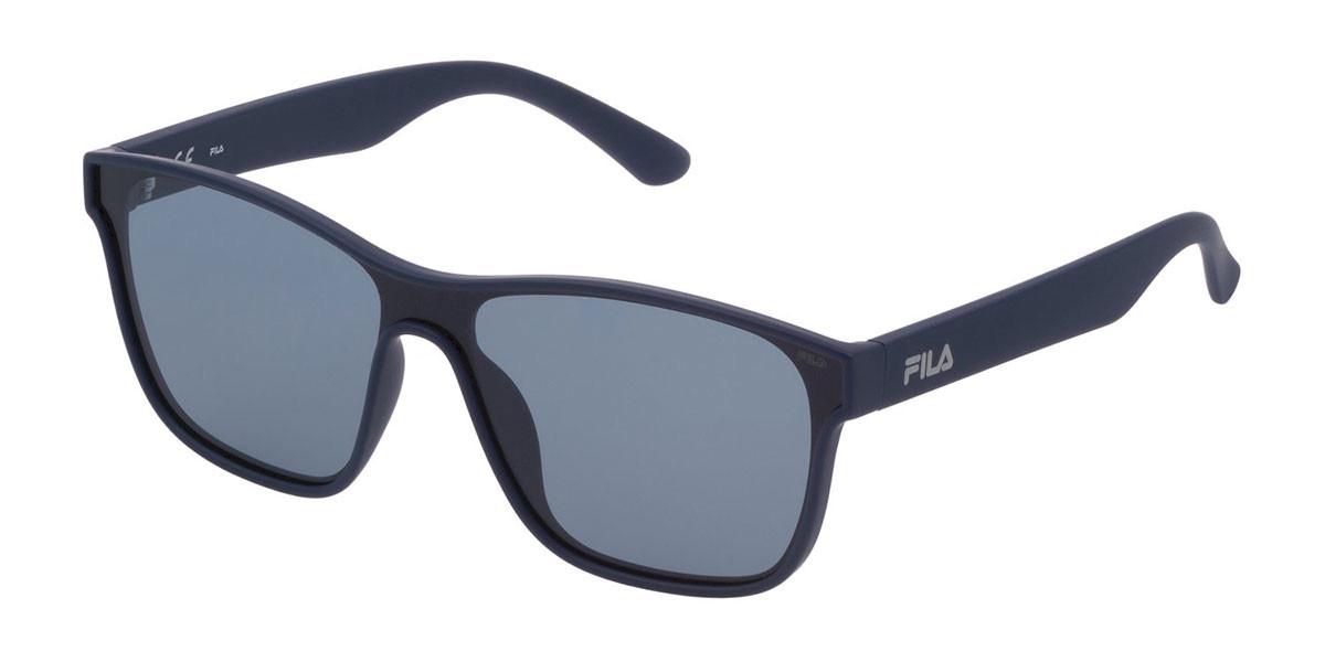 Fila SF9327 Polarized U43P Mens Sunglasses Blue Size 99