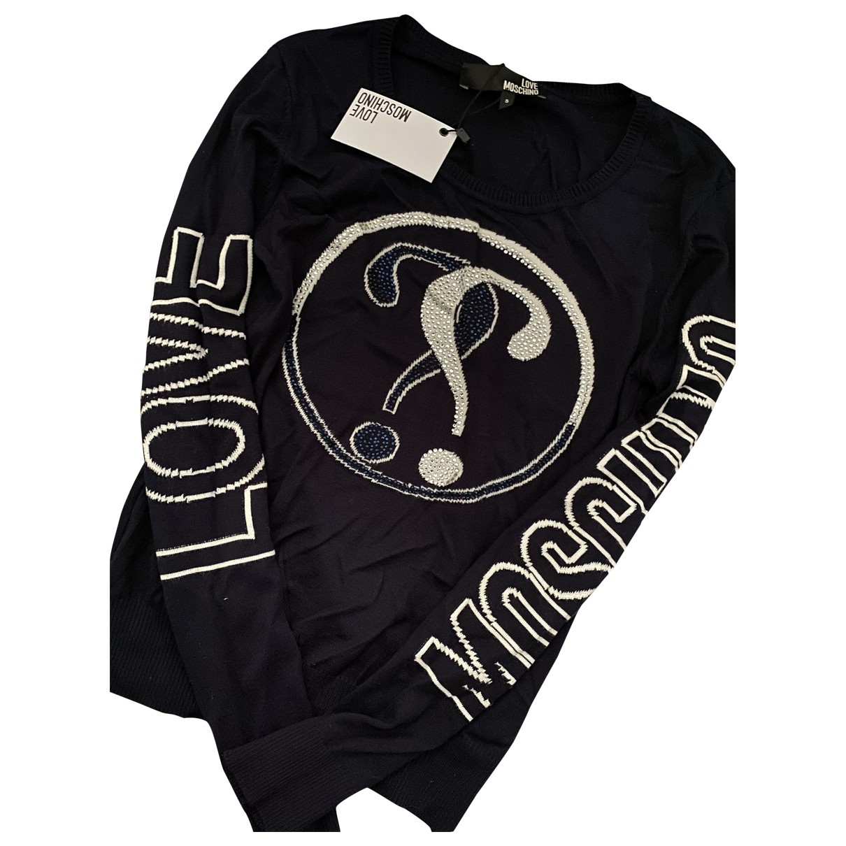 Moschino Love - Pull   pour femme - marine