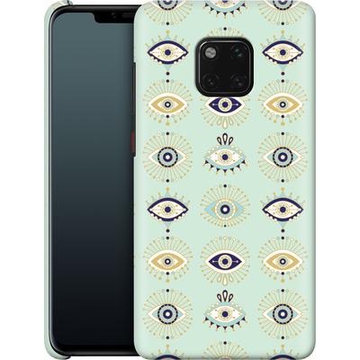 Huawei Mate 20 Pro Smartphone Huelle - Evil Eyes Mint von Cat Coquillette