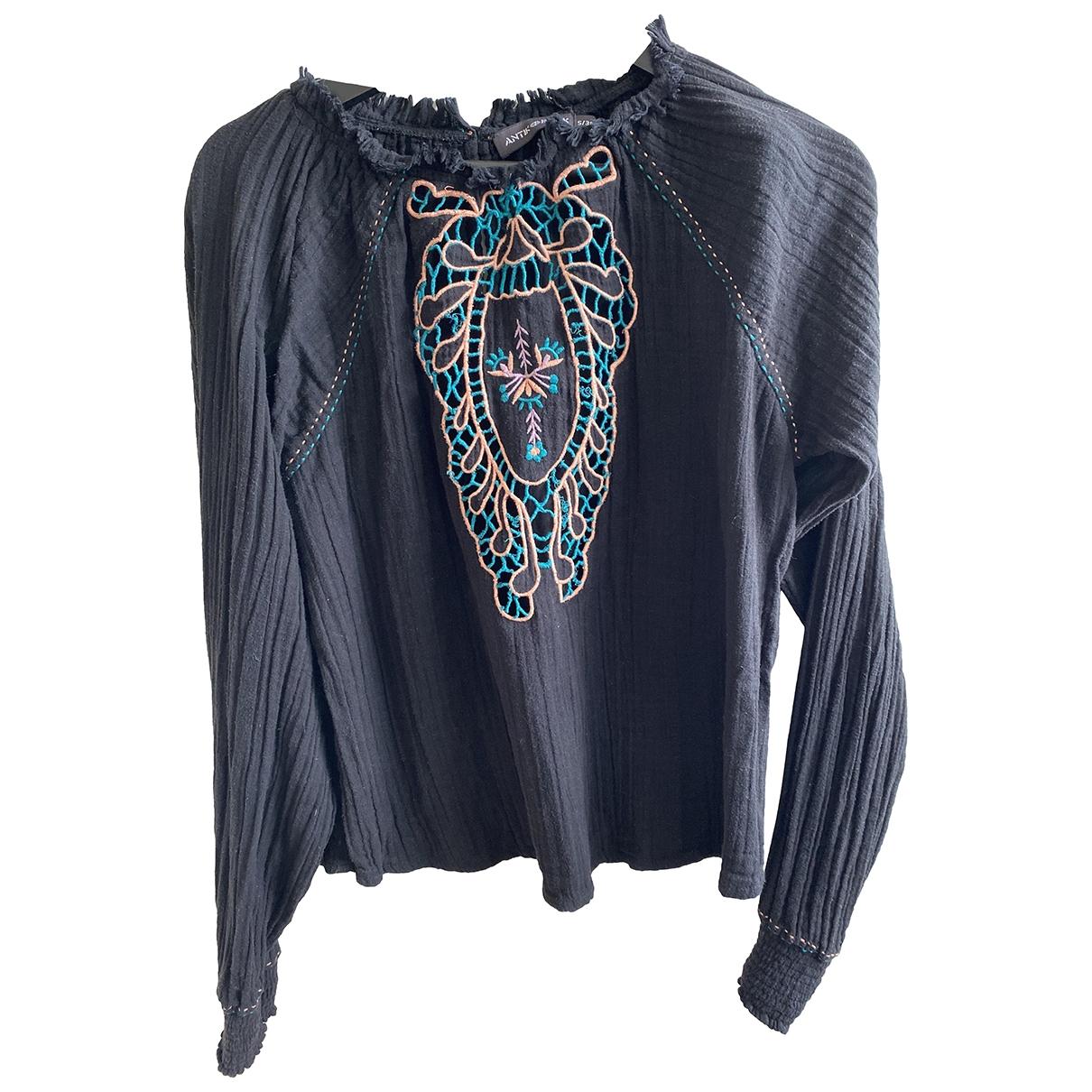Antik Batik \N Black Cotton  top for Women S International