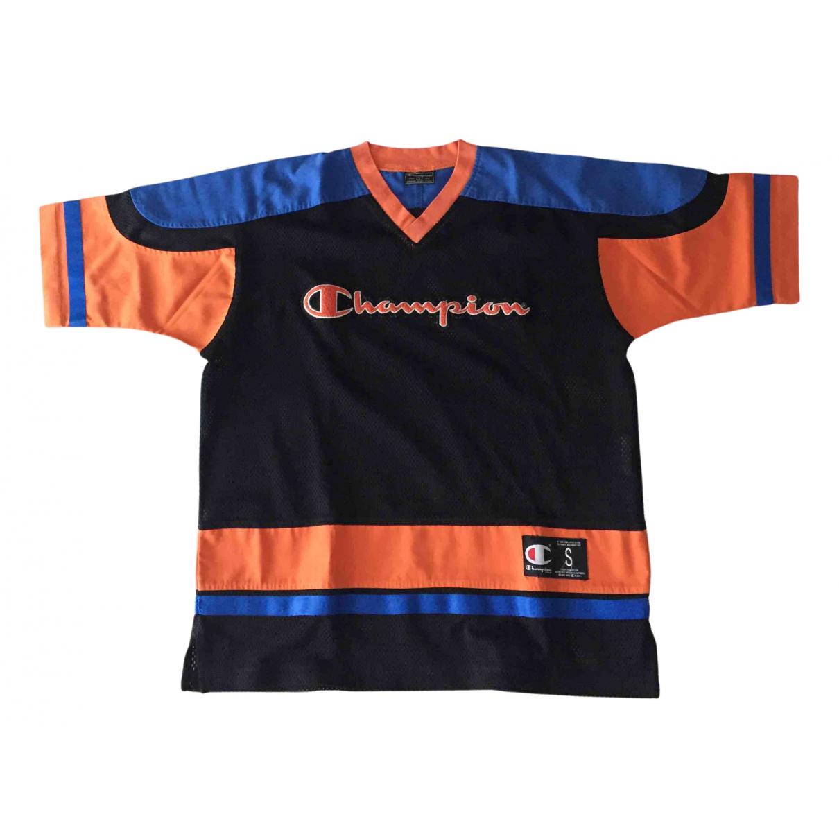 Champion - Tee shirts   pour homme en coton - multicolore