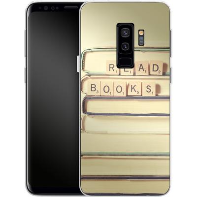 Samsung Galaxy S9 Plus Silikon Handyhuelle - Read Books von Joy StClaire