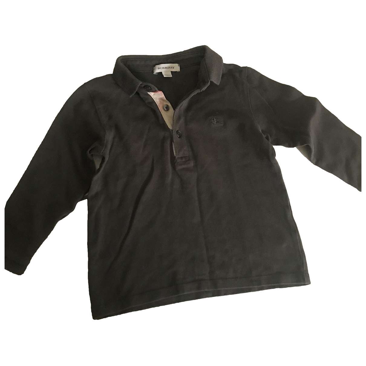 Burberry \N Khaki Cotton Knitwear for Kids 3 years - up to 98cm FR