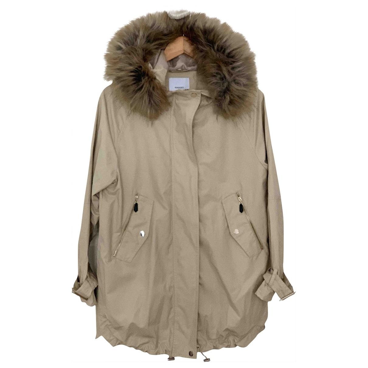 Mango - Manteau   pour femme - beige