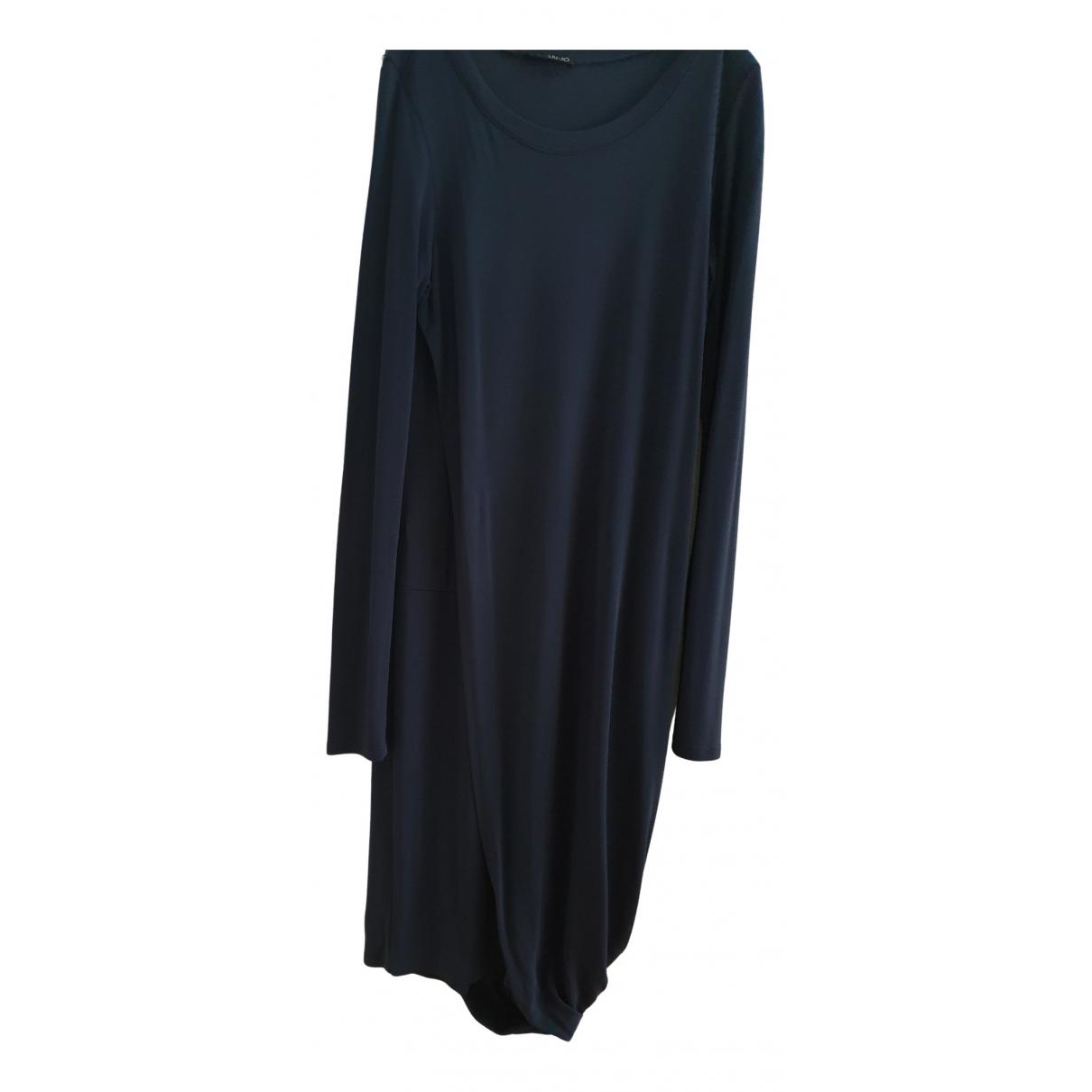 Liu.jo \N Kleid in  Blau Viskose