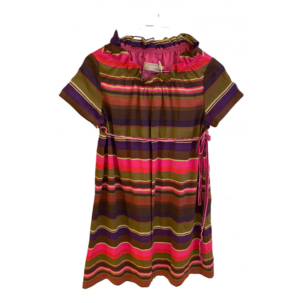 La Stupenderia \N Kleid in  Bunt Polyester
