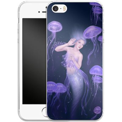 Apple iPhone 5 Silikon Handyhuelle - Rachel Anderson - Bioluminescence von TATE and CO