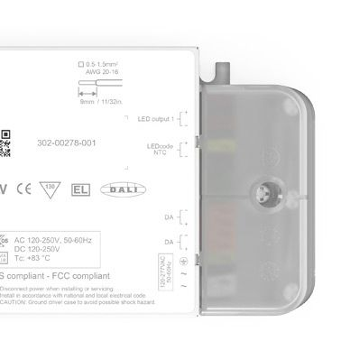 eldoLED ECOdrive AC/DC-DC Constant Current LED Driver 50 W 1.5 → 55 V