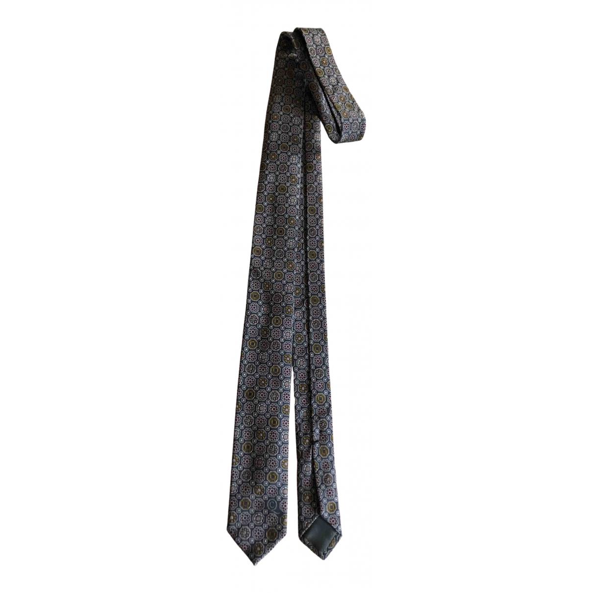 Alexander Mcqueen \N Krawatten in  Blau Seide
