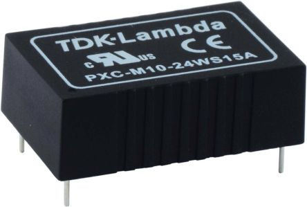 TDK-Lambda PXC-M10W 10W Isolated DC-DC Converter PCB Mount, Voltage in 18 → 75 V dc, Voltage out 12V dc Medical