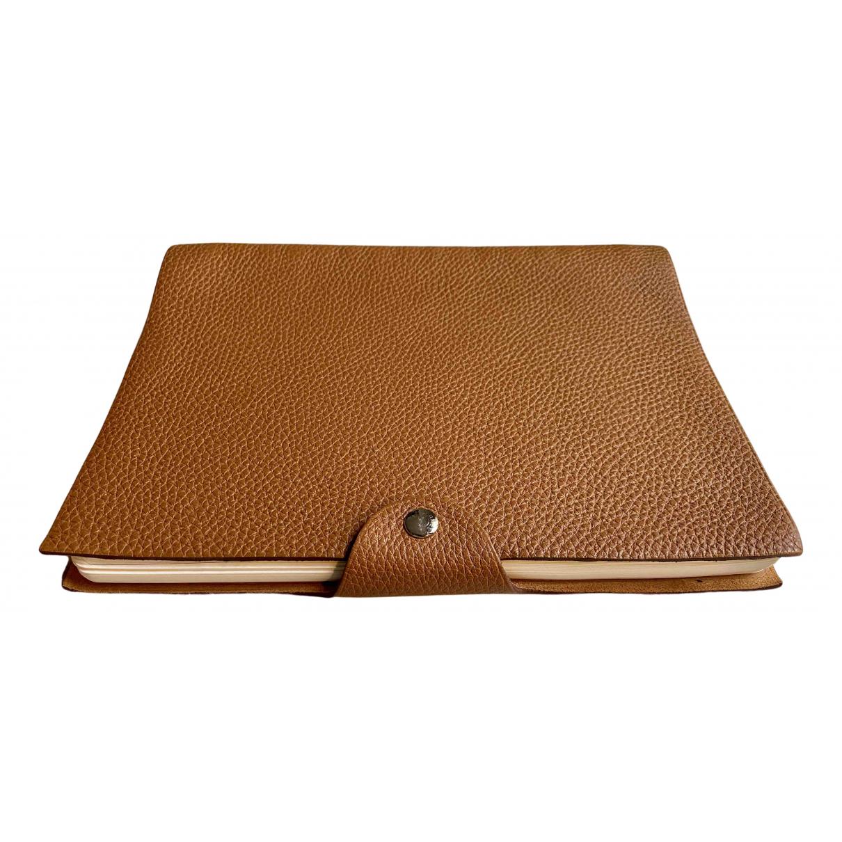 Hermes - Objets & Deco Ulysse MM pour lifestyle en cuir - marron
