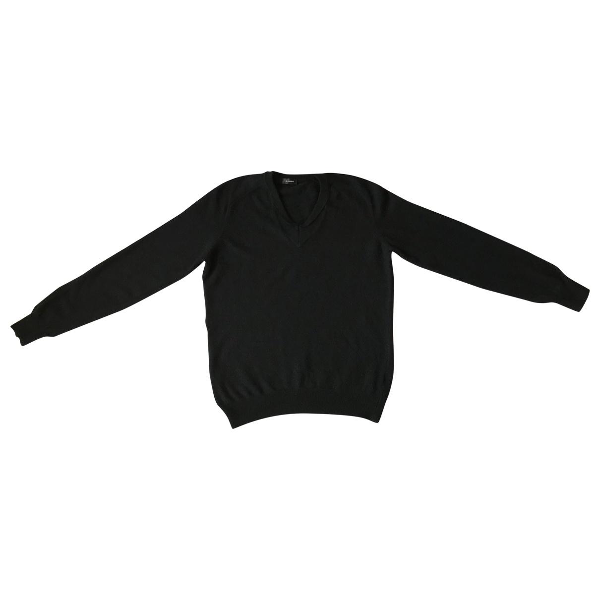Jil Sander \N Pullover.Westen.Sweatshirts  in  Schwarz Wolle